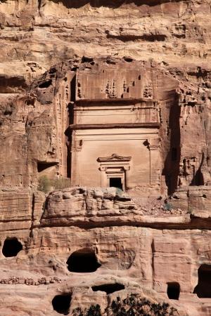 khazneh: Petra Nabataeans capital city (Al Khazneh), Jordan