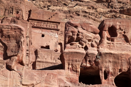 caved: Petra Nabataeans capital city (Al Khazneh), Jordan