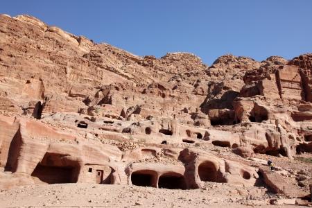khazneh: Petra Nabataeans capital city ( Al Khazneh ), Jordan