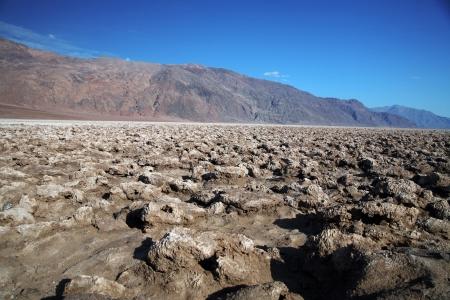 golf of california: Devils Golf Course, Death Valley national park, California, USA