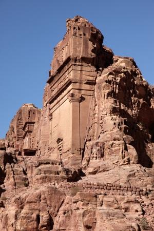 caved: Petra Nabataeans capital city ( Al Khazneh ), Jordan