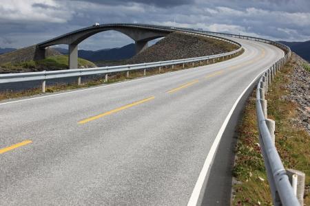 Atlantic Road in Norway photo