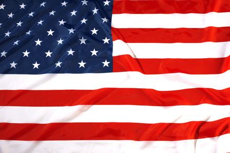 close up flag USA