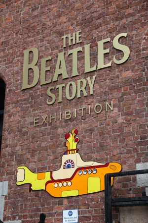 LIVERPOOL, UK - JUNE 16: The Beatles Story, opened since May 1990 in Albert Dock, Liverpool, gives guests an exciting journey into the life, times, culture and music of the Beatles. June 16, 2011 Stock Photo - 25489073