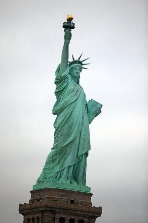NY Statue of Liberty Stock Photo