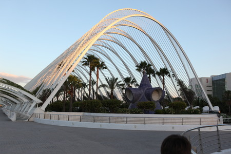 famous industries: Valencia architectural complex City of Arts and Sciences (Ciudad de las Artes y las Ciencias), Spain