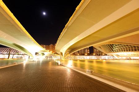 Valencia architectural complex City of Arts and Sciences (Ciudad de las Artes y las Ciencias), Spain Stock Photo - 29518127