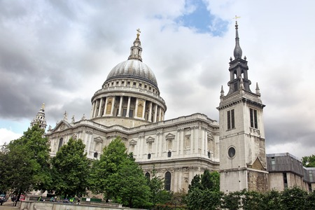 paul: St Paul Cathedral in London Stock Photo