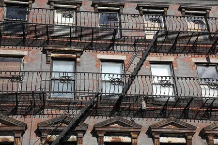 newyork: NYC - windows and old stairways