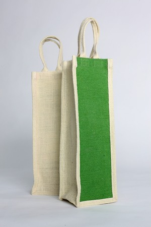 hessian bag: eco Shopping bag made out of recycled Hessian sack