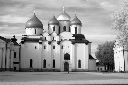 veliky: Church in The Kremlin (Detinets-stronghold). Great (Veliky) Novgorod