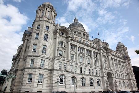 liverpool: Port of  Liverpool Building, UK