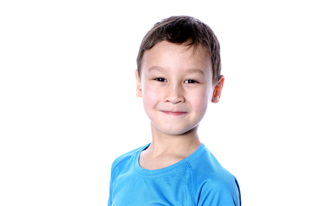 Young boy  6-7 years old photo