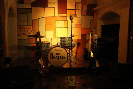 britannia: LIVERPOOL, UK - JUNE 16: The Beatles Story, opened since May 1990 in Albert Dock, Liverpool, gives guests an exciting journey into the life, times, culture and music of the Beatles. June 16, 2011