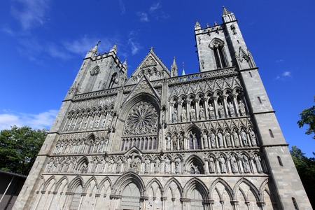 Trondheim cathedral, Norway