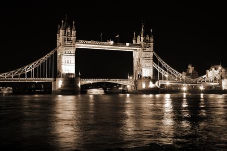 typically british: Evening Tower Bridge, London, UK