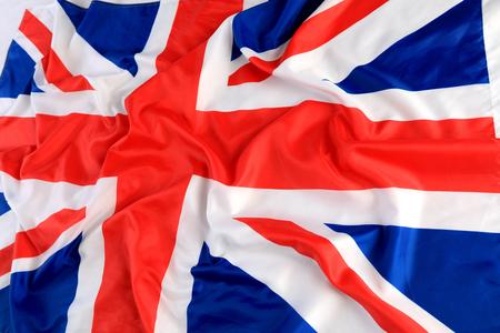 Close up of The Great Britan flag 免版税图像