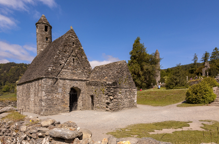 Saint Kevins Church in Glendalough, Ireland