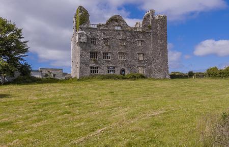 Ruined castle in Ireland