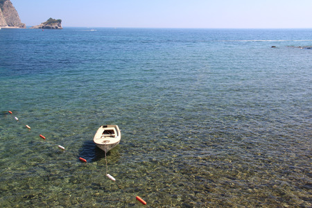 solitariness: boat Stock Photo
