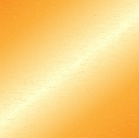brushed aluminum background: Gold metal background
