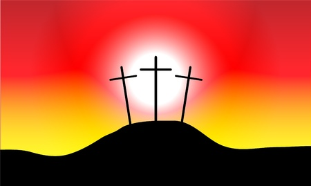 calvary: Calvary, an illustration of the crucifixion