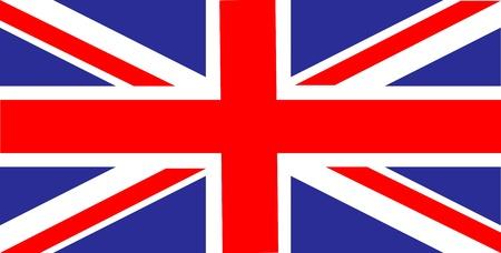 bandera uk: Reino Unido de Gran Bretaña bandera Vectores