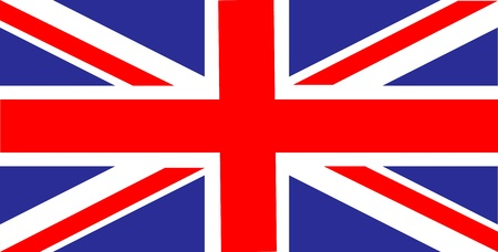 United Kingdom of Great Britain flag  Stock Vector - 10629628
