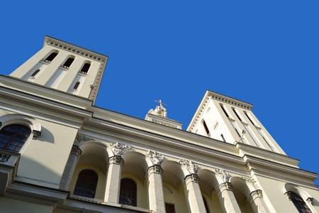 piter: Lutheran Church of Saint Piter in St.Petersburg, Russia Stock Photo