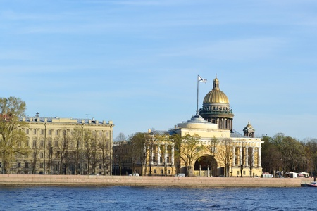 neva: St. Petersburg, Neva river and Admiralty Embankment