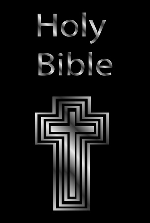 An image of a holy bible  Vector