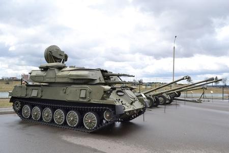 The photo of the soviet tanks . Stock Photo - 10650303