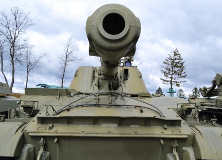 The photo of the soviet tank . Stock Photo - 10650297