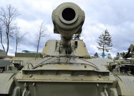 The photo of the soviet tank .