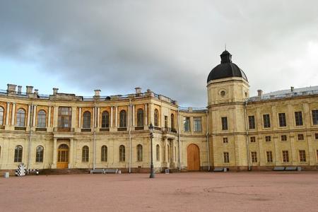 A Fragment of the Big Gatchina palace, Gatchina, Russia