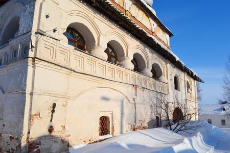 novgorod: View of old church in Veliky Novgorod, Russia. Stock Photo