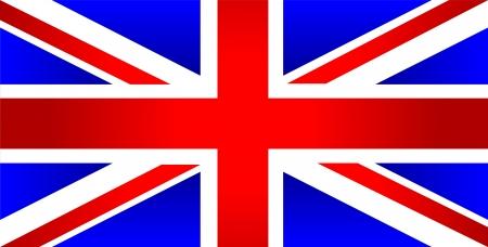 english flag: United Kingdom of Great Britain flag - vector