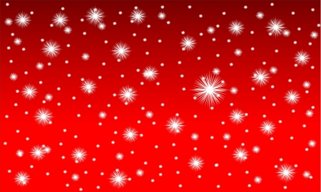 Winter background: Schneefall - Abbildung. Standard-Bild - 11341898