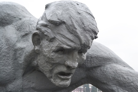brest: A monument to Soviet soldiers in Brest fortress, Belarus Editorial