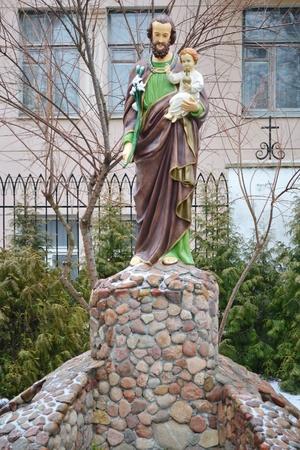 brest: Statue of Holy in Brest, Belarus