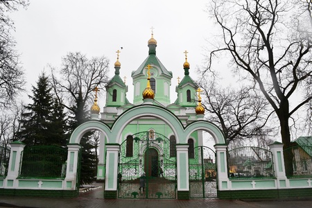 brest: The orthodox church in Brest, Belarus