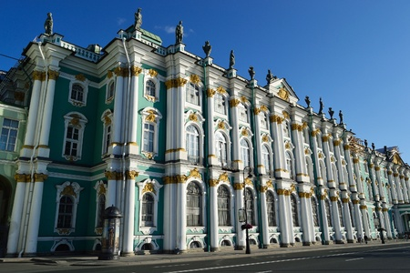 The Winter Palace in St.Petersburg, Russia
