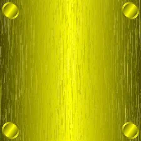 brushed aluminum: Cepillado de metal dorado, fondo de la plantilla.