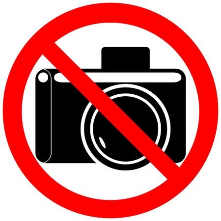 forbidding: Forbidding sign  Illustration