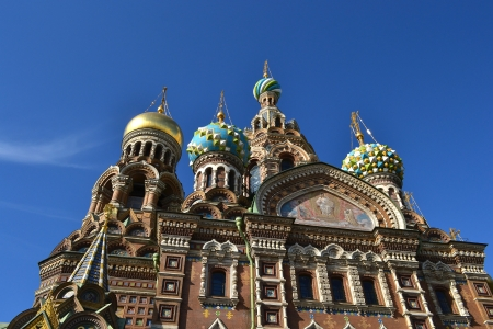 View of the temple Spas-na-krovi  Russia, St Petersburg Stock Photo - 13992809