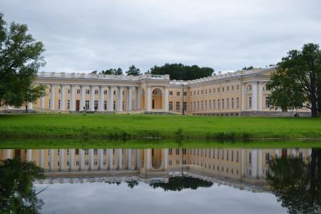 tsarskoye: View of the Alexander Palace in Tsarskoye Selo, St.Petersburg, Russia Editorial