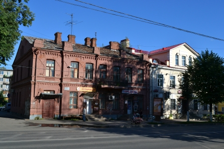 Gatchina, Russia - July 19, 2012: View of the historical part of Gatchina
