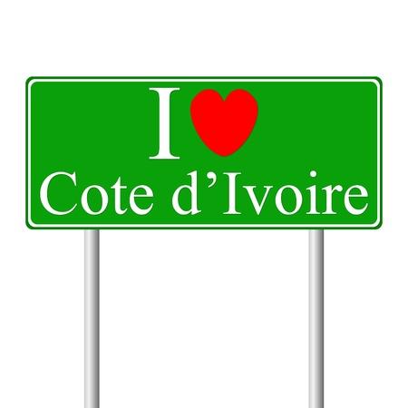 cote d ivoire: I love Cote d Illustration