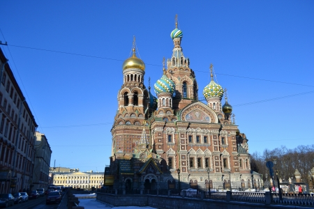 Church of the Savior on Spilled Blood, St.Petersburg, Russia Stock Photo - 18386914