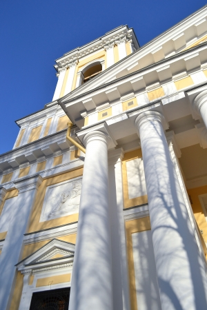 classicism: Alexander Nevsky Lavra, ancient monastery in classicism style in center of St.Petersburg, Russia